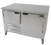 Cooltech 1-1/2 Door Low Boy Worktop Freezer 48""