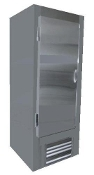Cooltech Stainless Steel 1-Door Reach-In Upright Freezer 26""