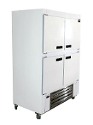 Cooltech Half Solid Door Reach-In Cooler 48""
