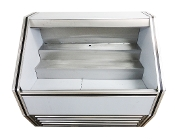 Cooltech Stainless Steel Open Air Merchandiser 36""