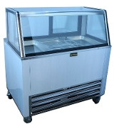"Cooltech 48"" Salad Bar with Double Duty Glass Top"