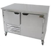 Cooltech 1-1/2 Door Low Boy Worktop Freezer 36""
