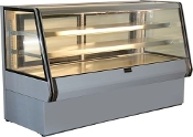 Cooltech Dry Counter Bakery Pastry Display Case 72""