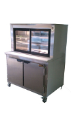 Cooltech Stainless Steel Refrigerated Pie Case 36""